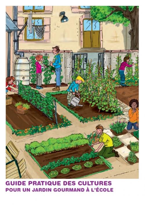 Bien-aimé Guides pratiques : créer et animer des activités de jardinage avec  BW77