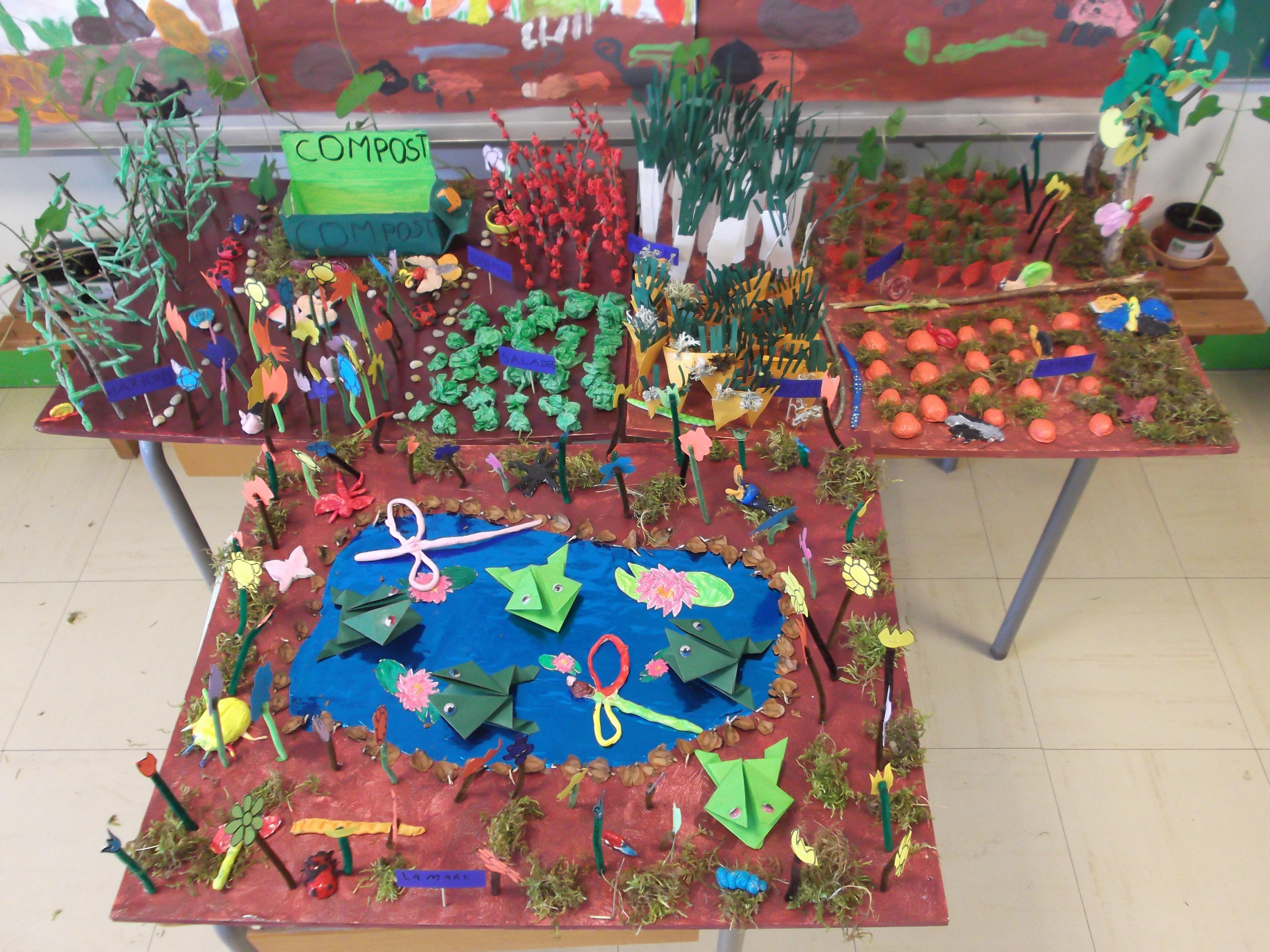Les uvres laur ates du concours notre jardin pour la for Le jardin voyageur maternelle