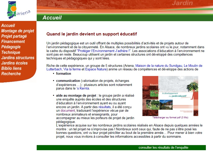 Extrêmement Associations & réseaux jardin et environnement ZP71